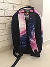 Городской рюкзак галактика(космос) с котом в очках., фото 6