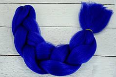Канекалон синий 60 см, 100 грамм