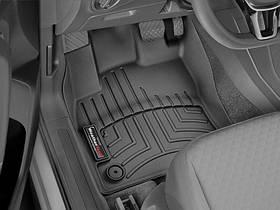 Ковры резиновые WeatherTech VW T-Roc 2019+ передние черные