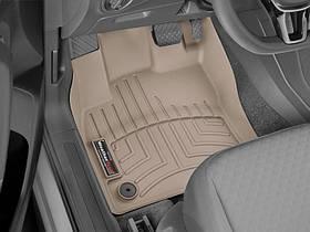 Ковры резиновые WeatherTech VW T-Roc 2019+ передние бежевые