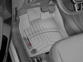 Ковры резиновые WeatherTech VW T-Roc 2019+  передние серые