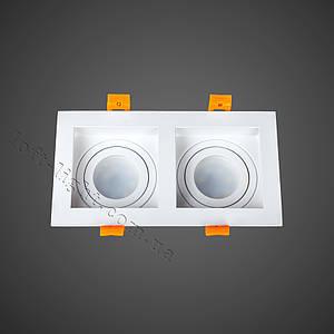 Точковий світильник врізний (модель 905-5505 WH )