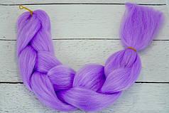 Канекалон фиолетовый 60 см, 100 грамм