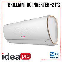 Кондиционер IDEA Pro Brilliant IPA-12HRFN1 ION Inverter -21°С ионизатор класс А++ до 35 м2, фото 2