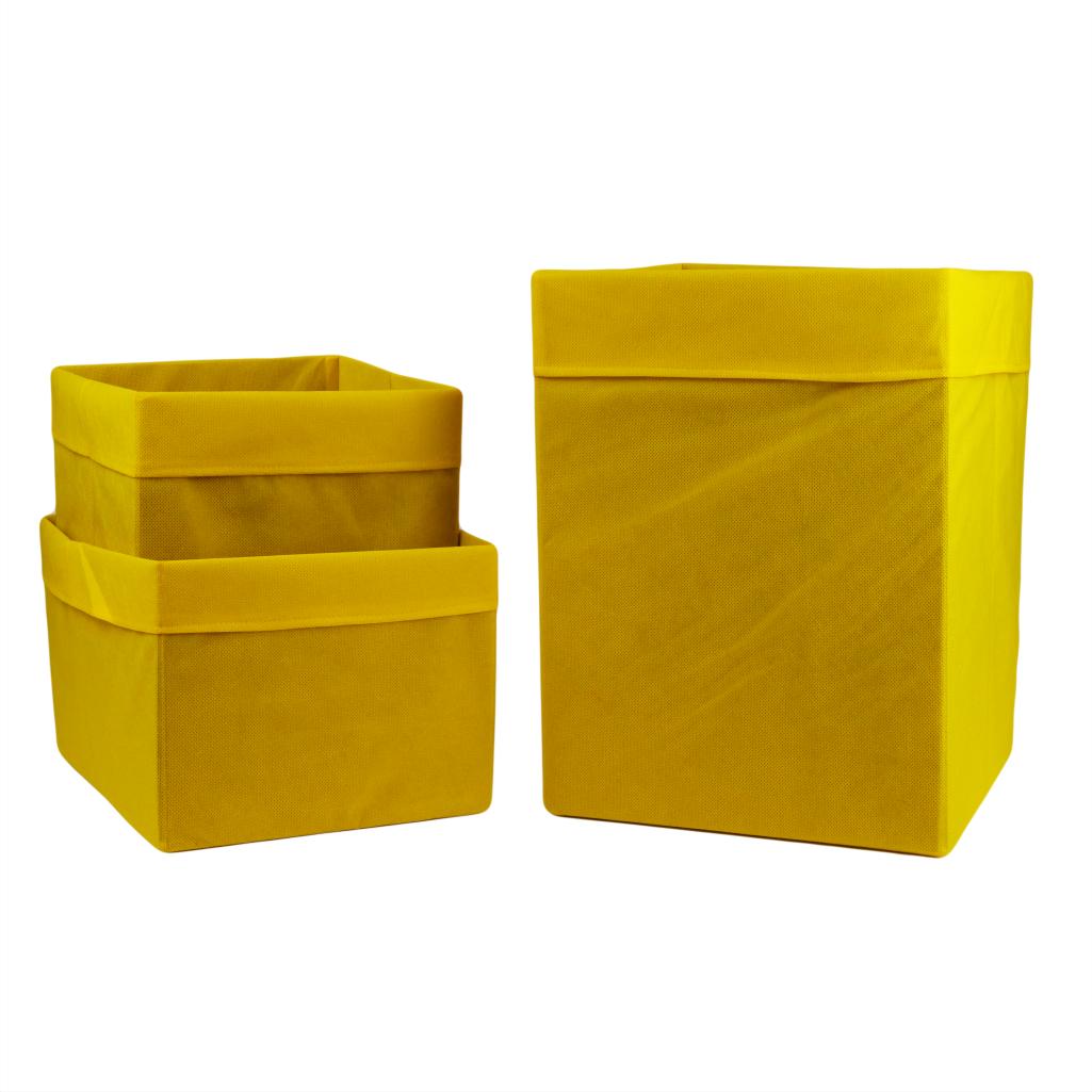 Комплект органайзеров одноцветных 009 ССС (Желтый)