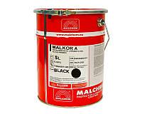 Грунт алкидный MALCHEM MALKOR A антикоррозионный черный 5л