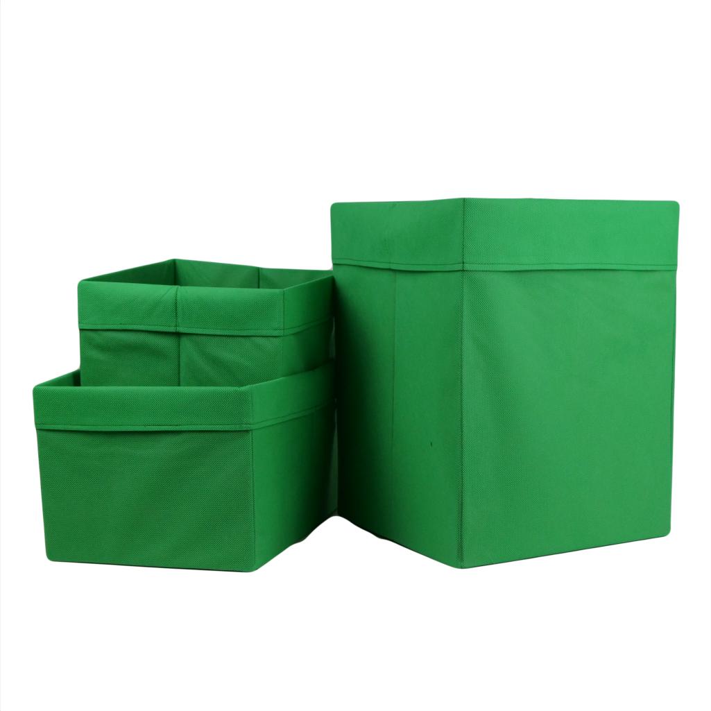 Комплект органайзерів однокольорових 010 ССС (Зелений)