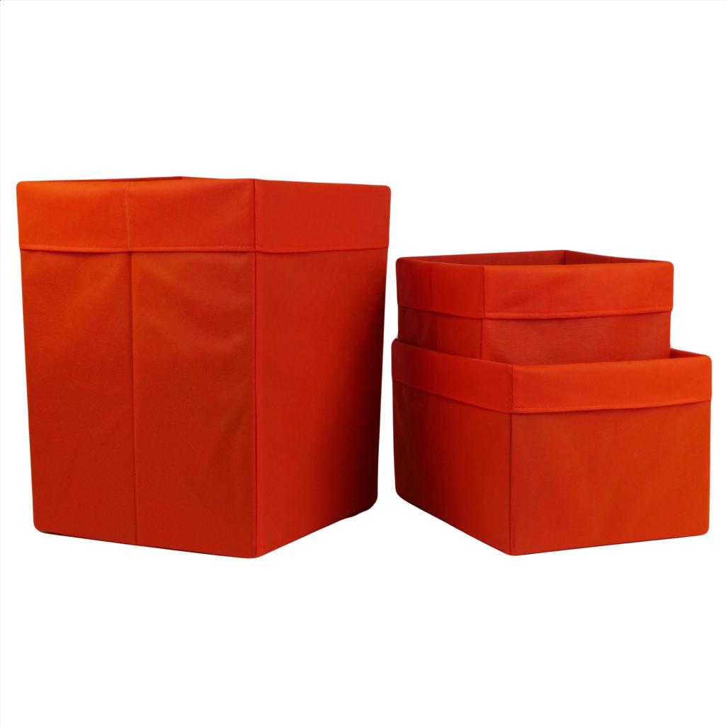 Комплект органайзеров одноцветных 011 ССС (Оранжевый)