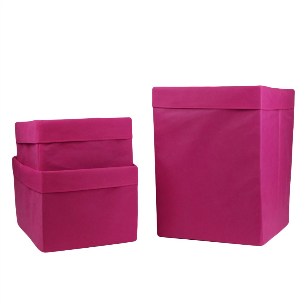 Комплект органайзеров одноцветных 012 ССС (Розовый)
