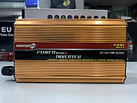 Инвертор PowerOne+ 12V 220V 1000W + USB