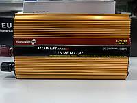 Инвертор PowerOne+ 24V 220V 1200W + USB