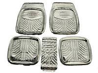 Коврики салона резиновые 1190 ВАЗ 2101-07 Aluminium  (компл.)