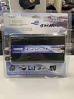 Инвертор TBE 12V-220V 1500W+USB