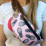 Женская поясная сумка (бананка) — ANANAS, фото 2