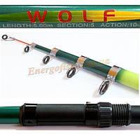 Удилище Wolf Bolo 5 м 10-30 г, фото 1