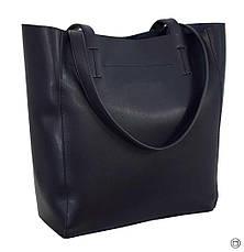 Жіноча сумка-шоппер Україна 518 синя, фото 2