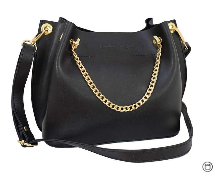 Женская сумка Case экокожа 524 черная з