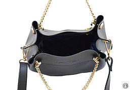 Женская сумка Case экокожа 524 черная з, фото 3