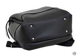 Женский рюкзак кожзам Case 606  черный, фото 3