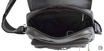 Женская сумка кожзам Case 362 черная г, фото 3