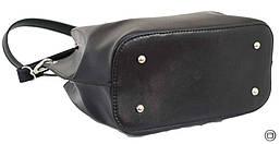 Красива жіноча сумка екокожа 524 чорна, фото 2