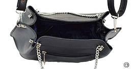 Женская сумка Case экокожа 524 черная, фото 3
