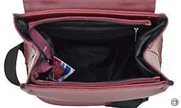 Женский рюкзак Case 546 бордо, фото 3