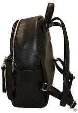 Женский рюкзак Case 450 черный замш н, фото 2