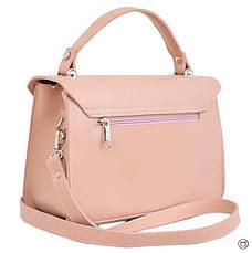 Женская сумка кожзам Case 572 пудра н, фото 3