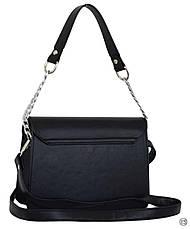 Женская сумка кожзам Case 635 черная г, фото 3