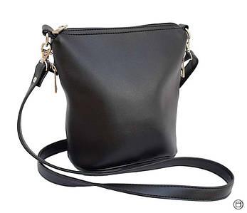 Женская сумка из кожзама Case 128 черная  гн, фото 2