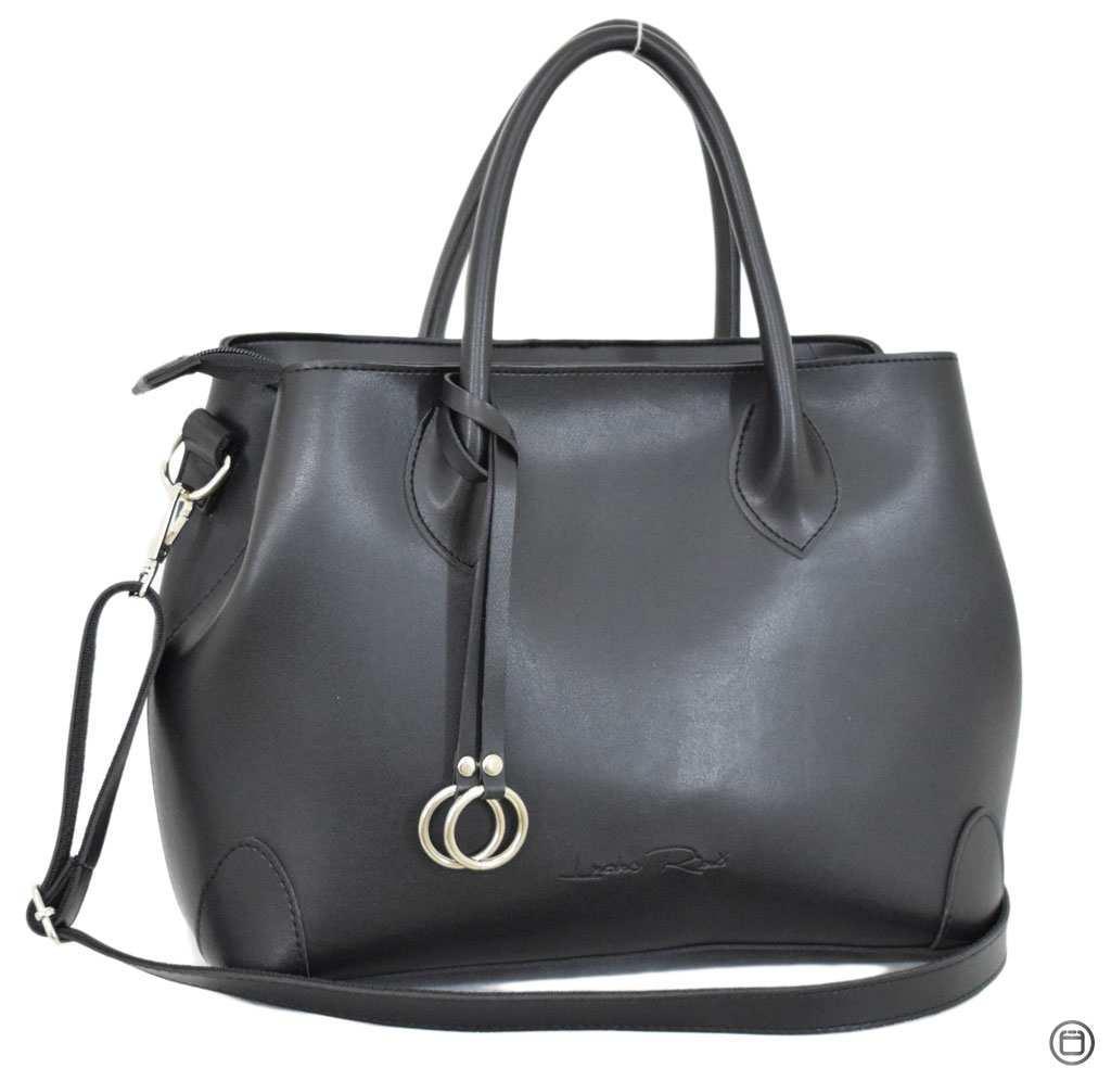 Женская сумка из кожзама Case 621 черная