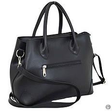 Женская сумка из кожзама Case 621 черная, фото 2