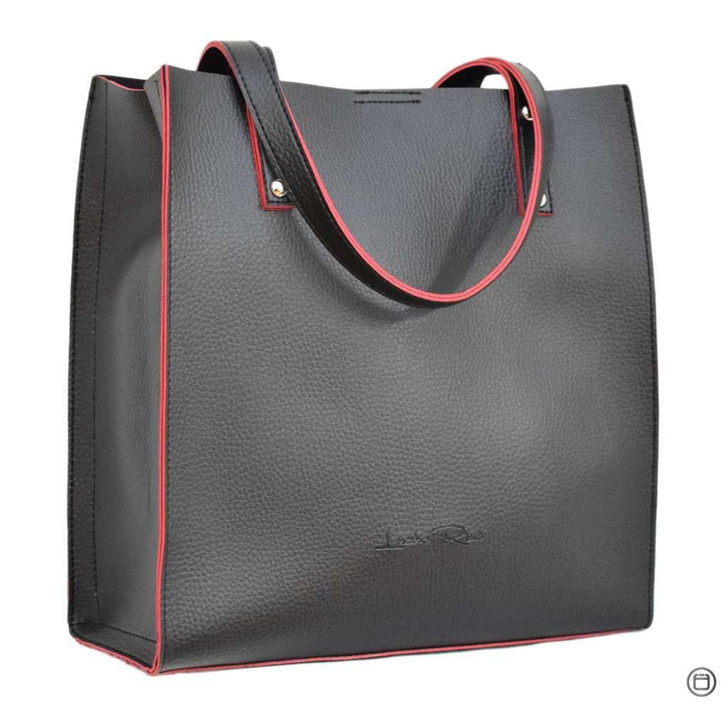 Жіноча сумка з екошкіри 532 чорна чн