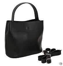 Женская сумка Case 516 черная, фото 2