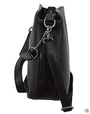 Женская сумка Case 628 черная, фото 3