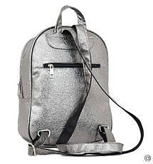 Женский рюкзак Case 600 серебро н, фото 2