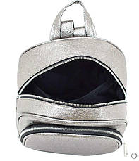 Женский рюкзак Case 600 серебро н, фото 3