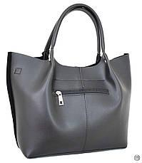 Женская сумка Case 520 замш черная н, фото 2