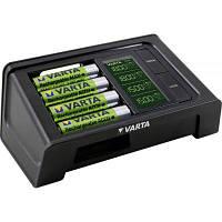 Зарядное устройство для аккумуляторов Varta LCD SMART CHARGER +4AA 2100 mAh (57674101441)