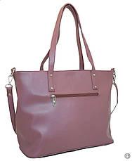 Жіноча сумка зі шкірозамінника Case 448 лілова, фото 2