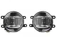 Фары противотуманные Toyota Previa/Corolla/Camry/Rav/Yaris/Avensis/TY-807-LED/5Wx2LED/эл.проводка