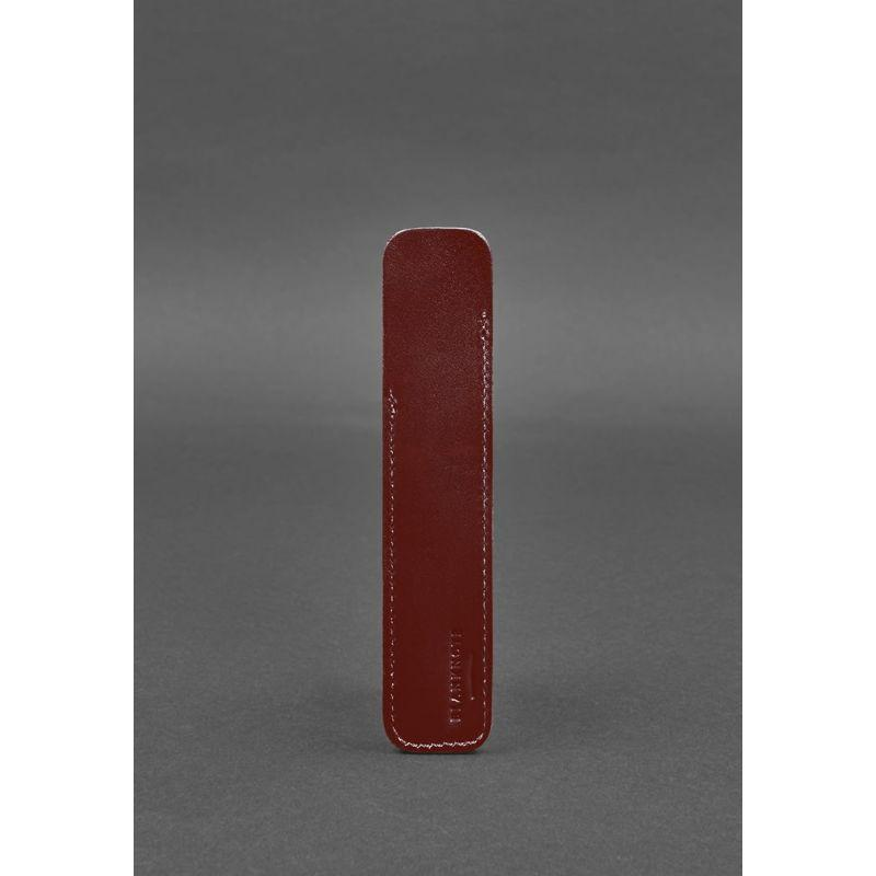 Кожаный чехол для ручки 2.0 Бордовый