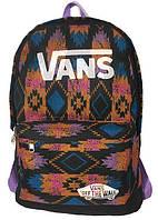 Рюкзак спортивный Vans R-09-142, разноцветный с рисунком