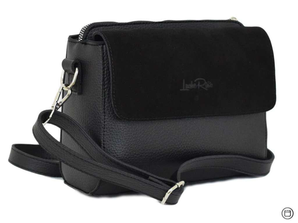 Женская сумка через плечо Case 633 черная
