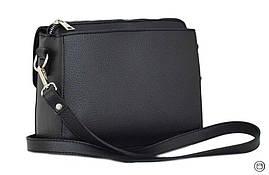 Женская сумка через плечо Case 633 черная, фото 3