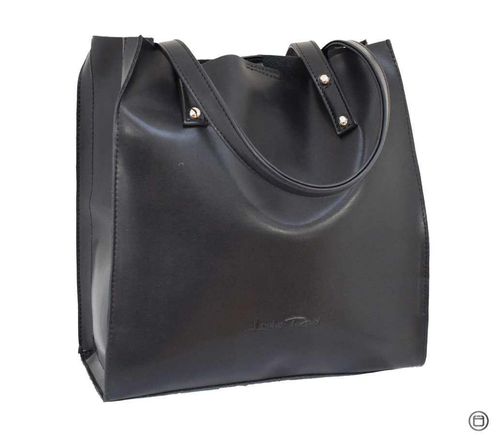 Женская сумка из экокожи Case 532 черная