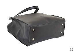 Женская сумка из экокожи Case 532 черная, фото 3