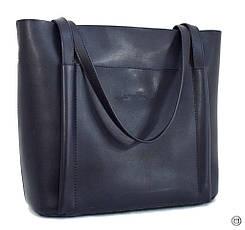 Женская сумка кожзам Case 550 синяя н, фото 3