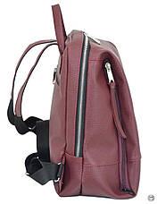 Женский рюкзак Case 606 бордо, фото 2